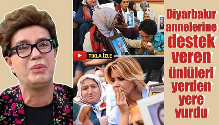 Yılmaz Morgül'ün Diyarbakır annelerine destek veren ünlüleri eleştirmesi