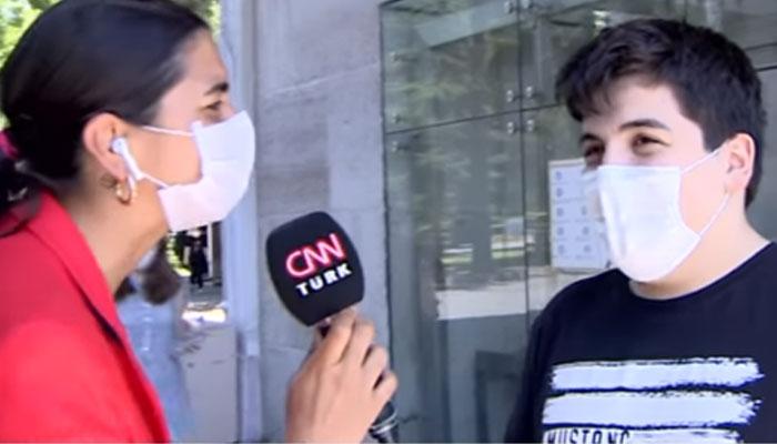 Üniversite sınavından çok röportaja hazırlanan genç